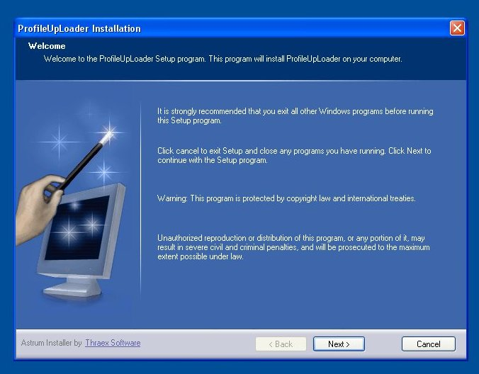 Installing the XMT634 Set64rs PT238 PT 238 Profile Uploader Software Arizona Phoenix