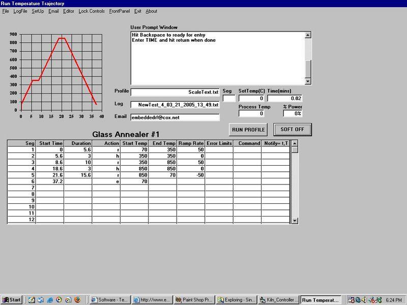 SKC Single Kiln Control Software Link Directory Page Arizona Phoenix