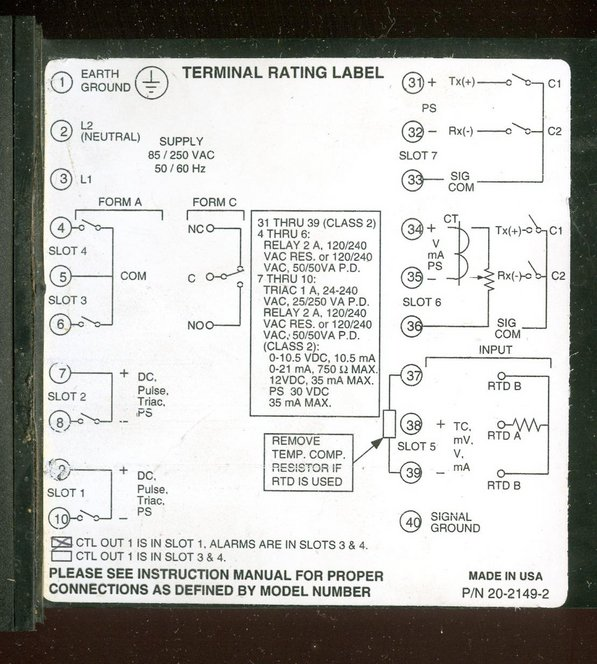 Barber Colman Series 10Q 15Q Temperature Controller Manual Arizona Phoenix
