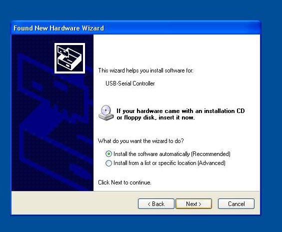 Installing Hexin HXSP 2108G USB to rs 422 converter Drivers in WinXP Arizona Phoenix